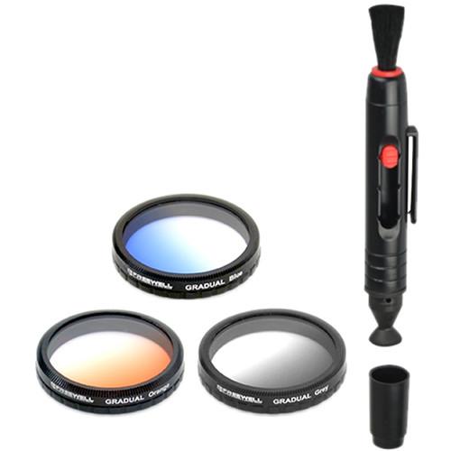 Freewell Graduated Lens Filter Kit for Autel Robotics X-Star/X-Star Premium Quadcopter (3-Pack)
