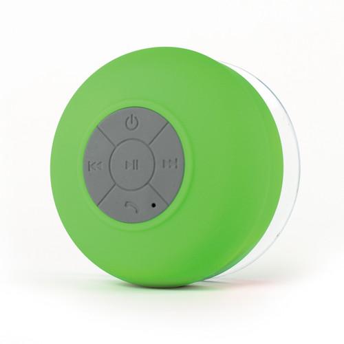 FRESHeTECH Splash Shower Tunes Bluetooth Waterproof Shower Speaker (Green)
