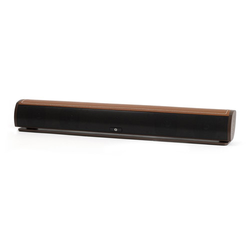 FRESHeTECH FRESHeBAR 90W Soundbar with Bluetooth (Brown with Brown Leather)
