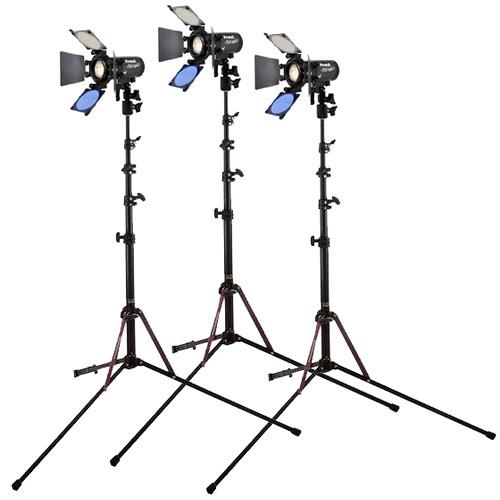Frezzi 3 Head EyLight 5000K Lamp Combo w/ Hardcase