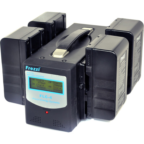 Frezzi Lithium-Ion Quad Power Battery Package (V-Mount)