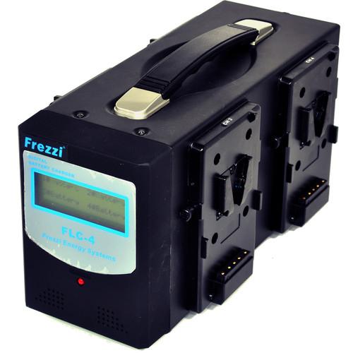Frezzi FLC-4V Quad Li-Ion Battery Charger with V-Mount