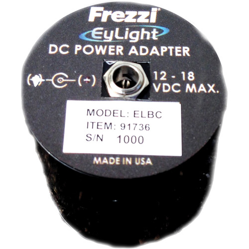 Frezzi ELBC Bypass Connector DC Power Adapter for EyLight
