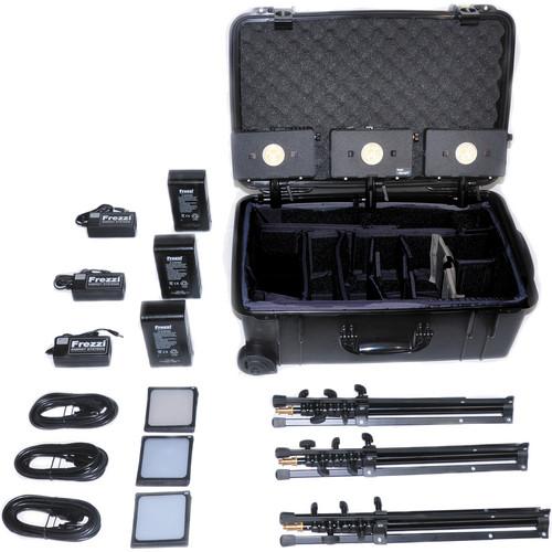 Frezzi HLK-3A 3 Head HyLight Travel Kit