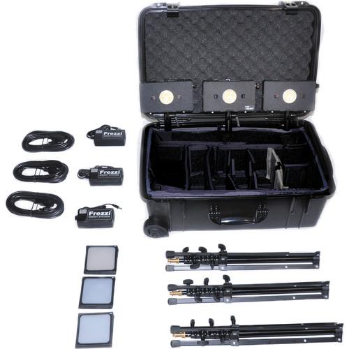 Frezzi HLK-3AN 3 Head HyLight Travel Kit
