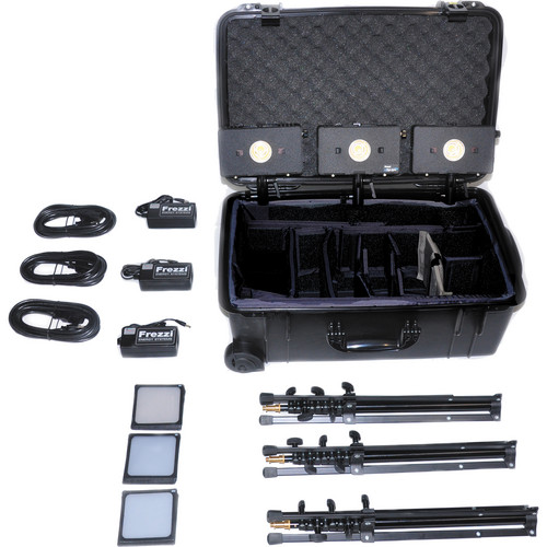 Frezzi HLK-3VN 3 Head HyLight Travel Kit