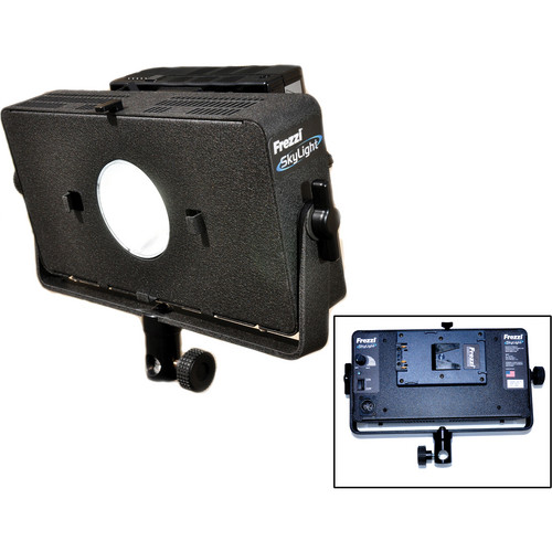 Frezzi SKY1V Portable LED with HMI Type Output & V-Mount Battery Bracket