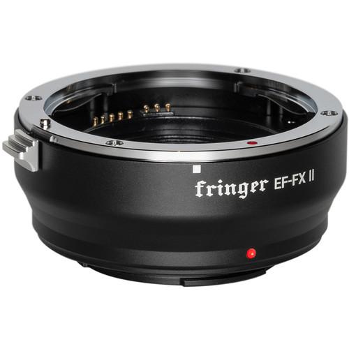 Fringer EF-FX II Lens Mount Adapter for EF- or EF-S-Mount Lens to Fujifilm X-Mount Camera