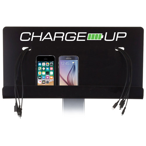 FSR Wall Mount with Stock Logo for Charge-Up Charging Station