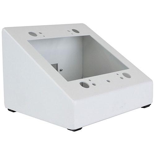 FSR DSKB-2G-WHT 2-Gang Desktop Mounting Box (White)