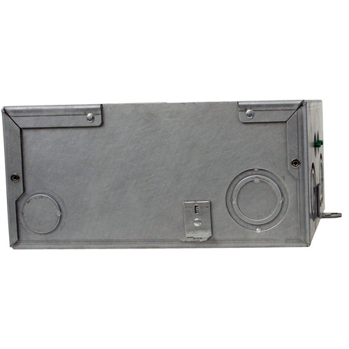 "FSR FL-200 4"" Deep Bottom Floor Box with Steel Construction Cover"