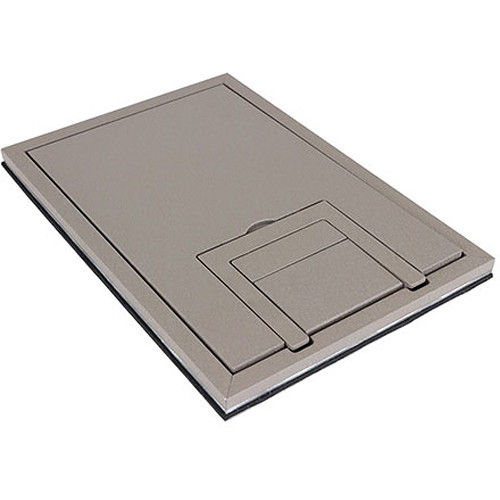"FSR FL-200 U-Access 1/4"" Solid Cover with Cable Exit (Clay)"