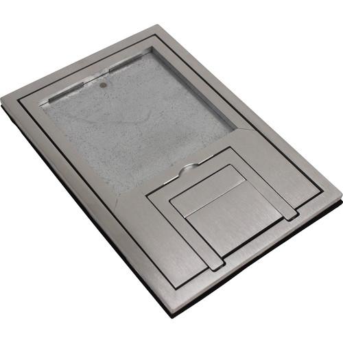 "FSR FL-200 U-Access Cover with Lift-Off Door (1/4"" Aluminum Square Flange)"
