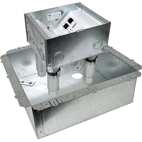 FSR FL-500P-6-FRK Fire-Resistant Transformable Floor Box System