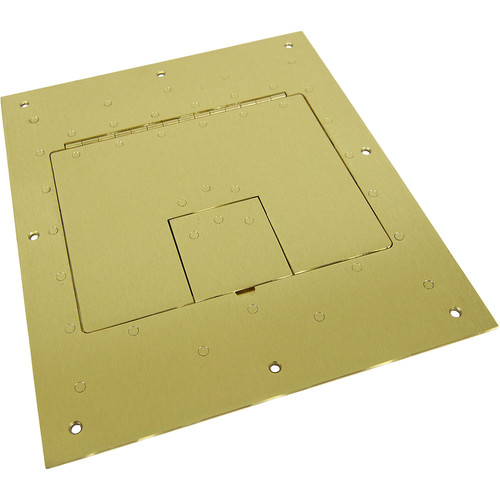 FSR Flat Cover for FL-500P Floor Box (Brass)