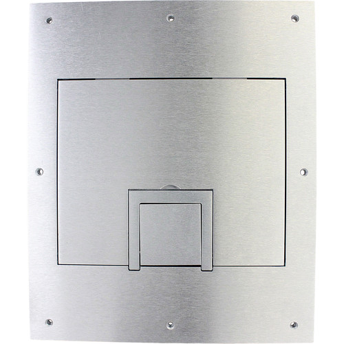 FSR Solid Aluminum Cover for FL-500P Floor Box with Cable Exit (No Trim)