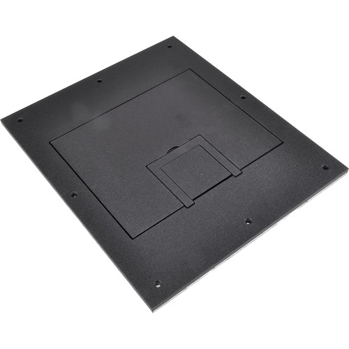 FSR FL-500P Solid Cover with Cable Exit (No Trim, Black)