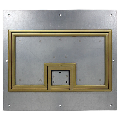 "FSR Cover with 1/4"" Brass Carpet Flange (Lift-Off Door)"