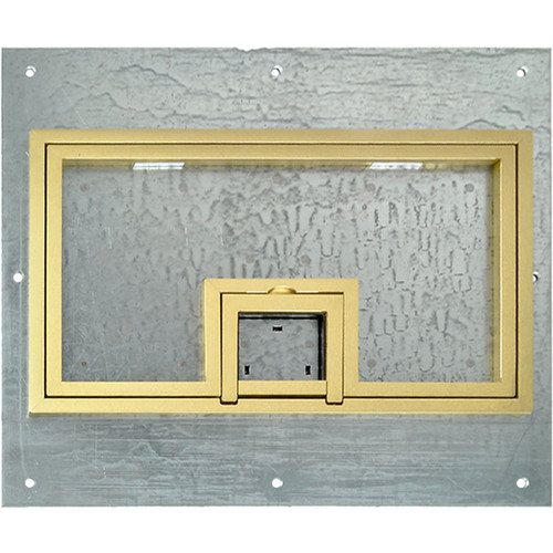 """FSR Cover with 1/4"""" Brass Square Flange (Lift-Off Door)"""