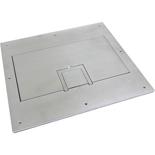 FSR Solid Aluminum Cover for FL-600P Floor Box with Cable Exit (No Trim)