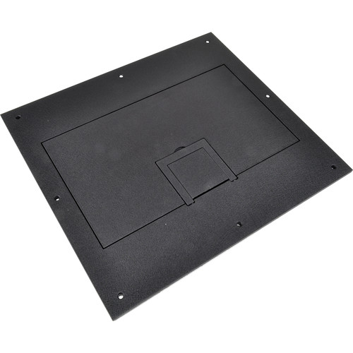 FSR FL-600P Solid Cover with Cable Exit (No Trim, Black)