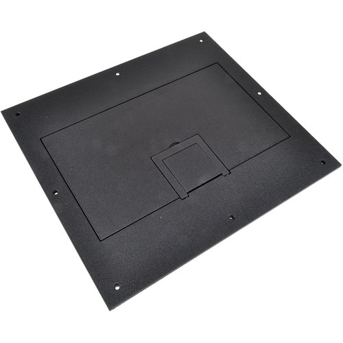 FSR Solid Cover with Cable Exit (No Trim, Black)