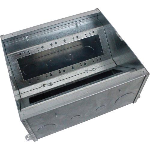 "FSR Fire-Resistant 4-Compartment Floor Back Box (6"" Deep)"