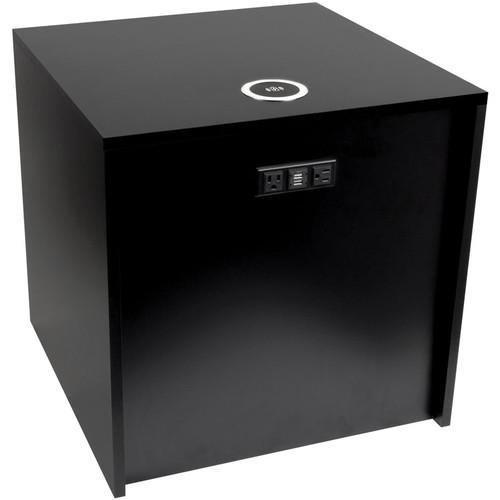 "FSR Huddle BLOX Power Distribution & Charging Station (21"" Cube, Black)"