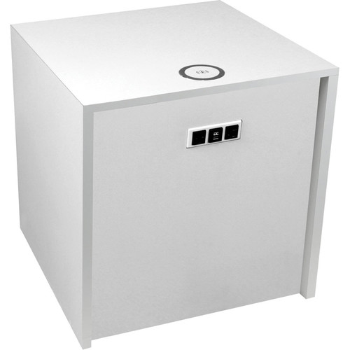 "FSR Huddle BLOX Power Distribution & Charging Station (21"" Cube, White)"