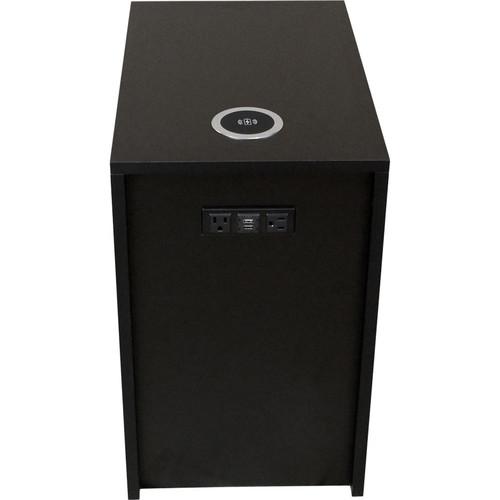 "FSR Huddle BLOX Power Distribution & Charging Station (21 x 13"" Box, Black)"