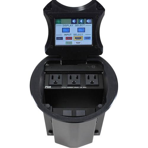 "FSR HuddleVU FLEX 6"" Table Box HDMI Collaboration System with 8x8 Matrix Switcher"