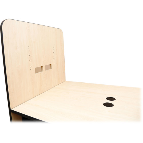 FSR HuddleVU Back Mounting Panel for Single/Dual Monitor (Maple)