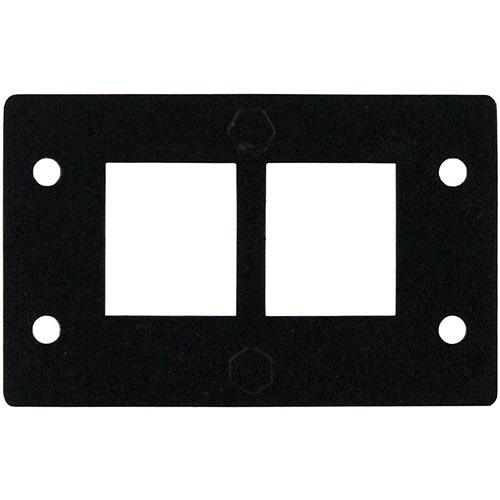 FSR IPS-B041D Two Keystone Opening Insert (Black)