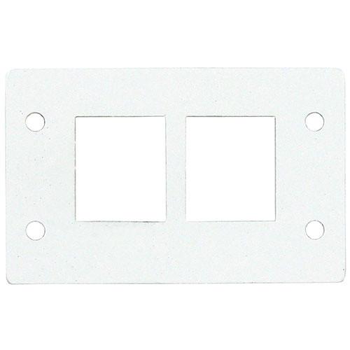 FSR IPS-B041D Two Keystone Opening Insert (White)