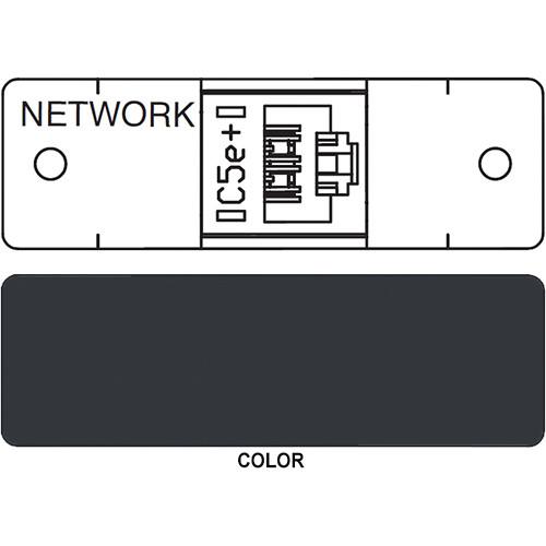 FSR IPS D710S RJ-45 Punchdown Data Connection Insert (Labeled, Black)