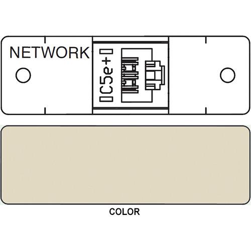 FSR IPS D710S RJ-45 Punchdown Data Connection Insert (Labeled, Ivory)