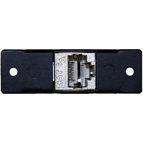 FSR IPS-D722S-BLK Single Height CAT6a Shielded Connector Insert (Black)