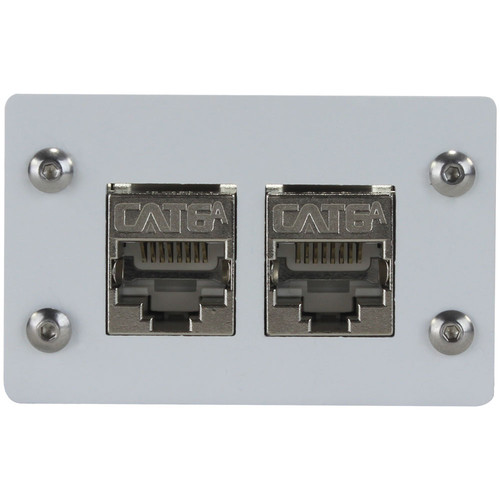 FSR Double-Height CAT6a Shielded Connector Insert (White)