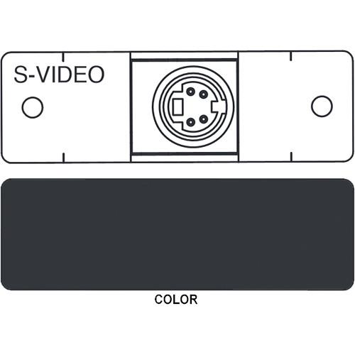 FSR IPS-V311S S-Video to S-Video Insert Module (Labeled, Black)
