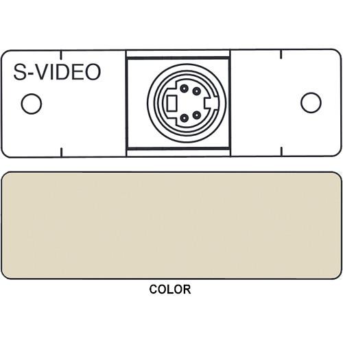 FSR IPS-V311S S-Video to S-Video Insert Module (Labeled, Ivory)
