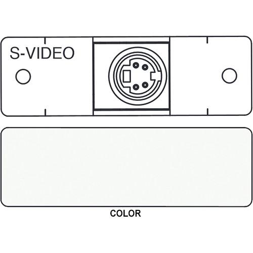 FSR IPS-V311S S-Video to S-Video Insert Module (Labeled, White)