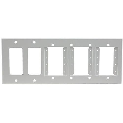 FSR IPS-WP2H-WHT 6 Gang Wall Plate (White)