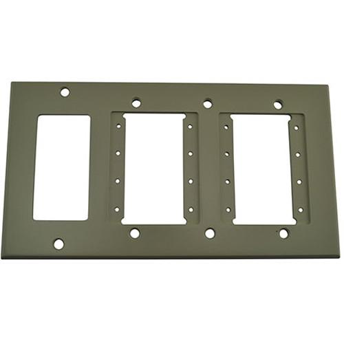 FSR IPS-WP3Q-IVO 4 Gang Wall Plate (Ivory)