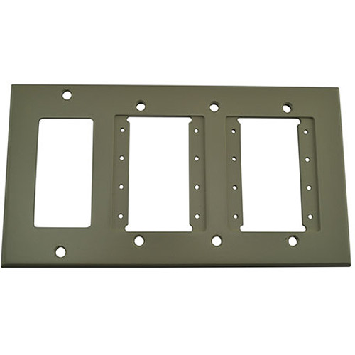 FSR IPS-WP3Q-IVO 4 Gang Wall Plate (Ivory)