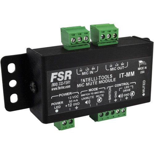 FSR Mic Mute Module with LED Drive and Switch Interface