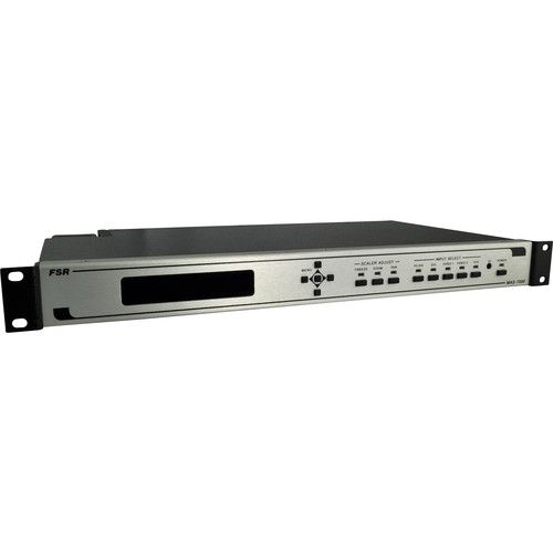 FSR Magellan Series MAS-7000A Scaling Switcher with 4x1 Stereo Audio Routing