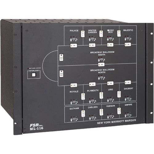 FSR ML-116 9-Room Audio Combining System