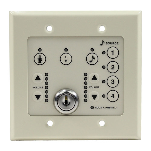 FSR 2-Gang Wall Plate with No Logo When Purchased with ML-800