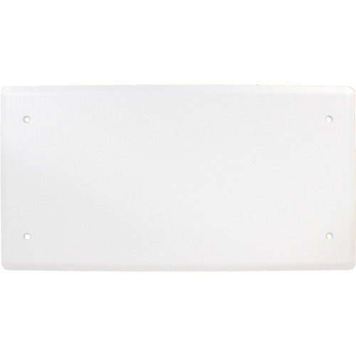 FSR PWB-100-SLDWHT-C Wall Box Solid Abandonment Cover (White)