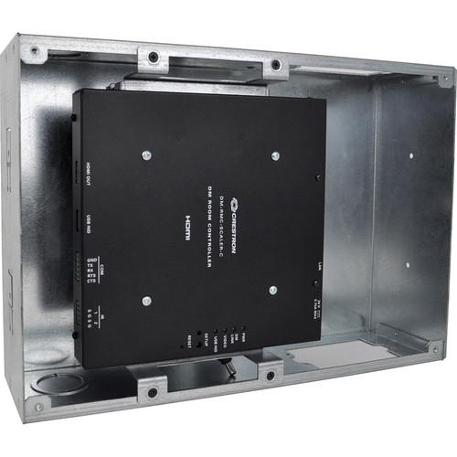 FSR PWB-270 Plasma/Flat Panel Display Wall Box for Crestron DM-RMC-SCALER-C Receiver (Black)